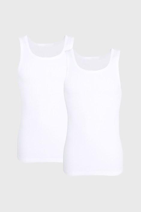 2 PACK bela spodnja majica Tom Tailor