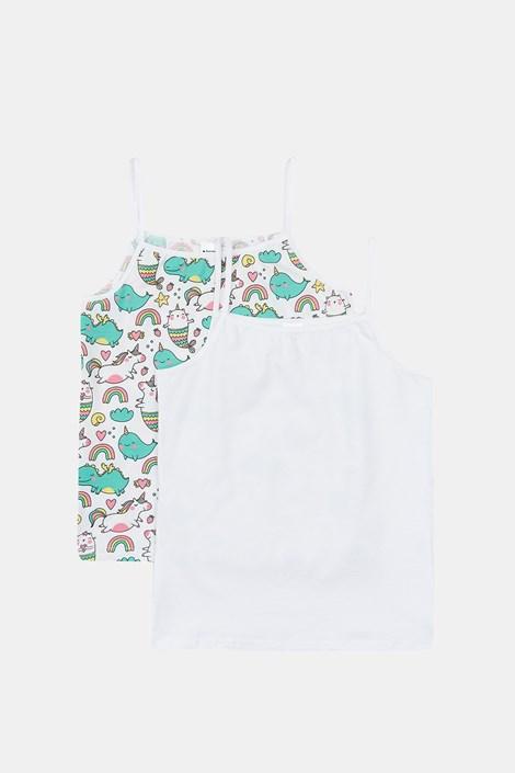 2 PACK dekliške spodnje majice Unicorn