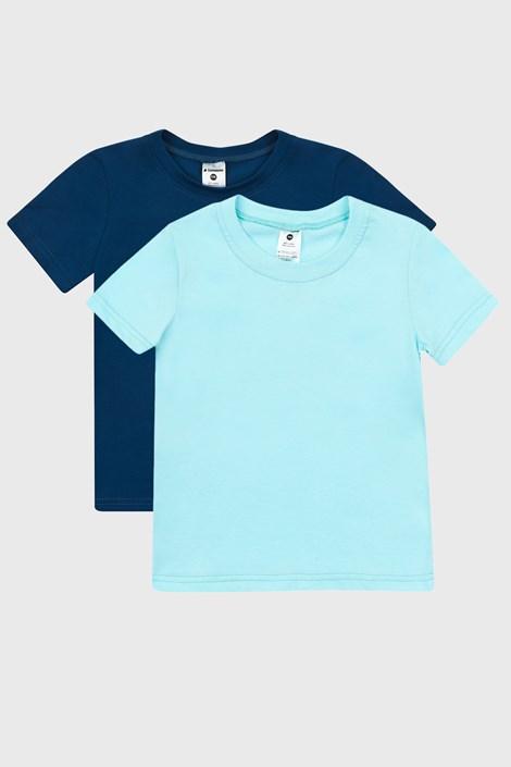 2 PACK modrih fantovskih majic