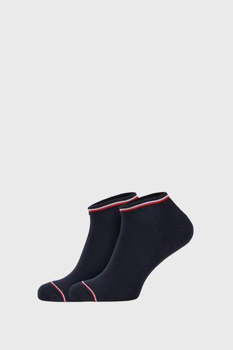 2 PACK modre nogavice Tommy Hilfiger Iconic Sneaker