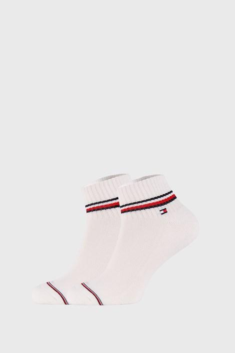2 PACK bele kratke nogavice Tommy Hilfiger Iconic