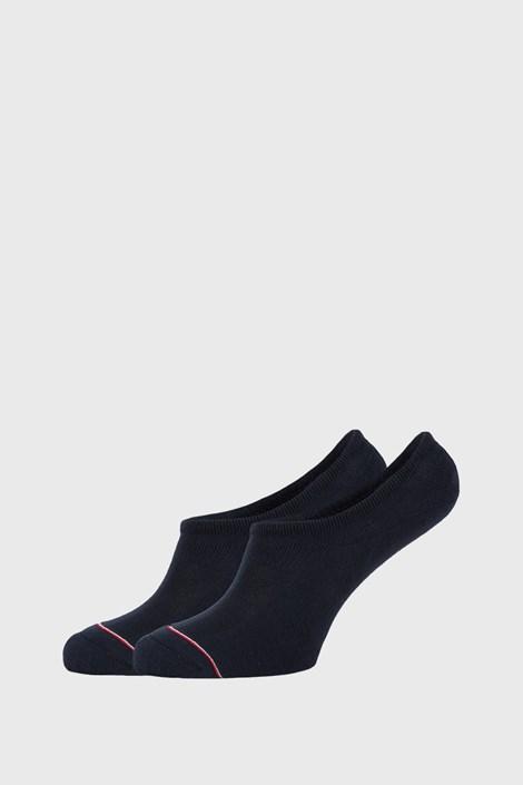 2 PACK modre nizke nogavice Tommy Hilfiger Iconic