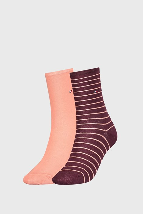 2 PACK ženske nogavice Tommy Hilfiger Stripes