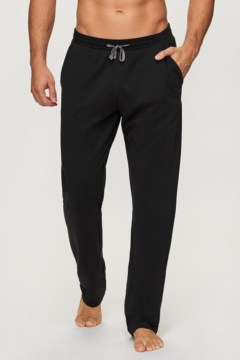Črne športne hlače Long