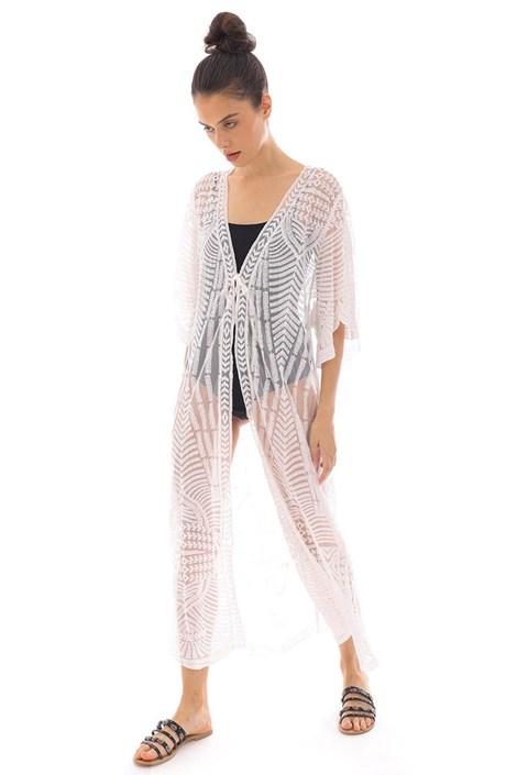 Bela obleka za na plaži Mairi