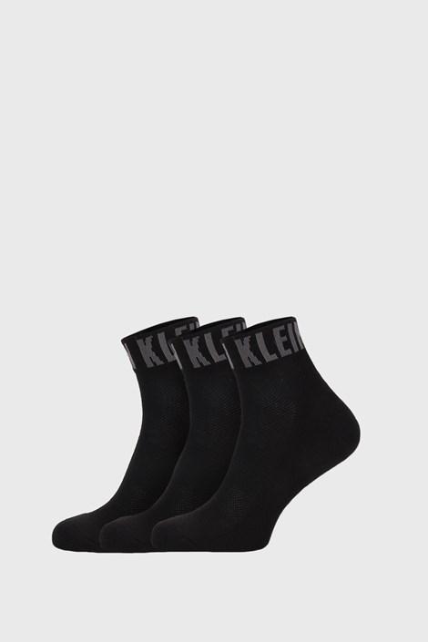 3 PACK črne nogavice Calvin Klein Drake