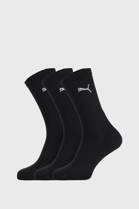 3 PACK črne nogavice Puma Sport