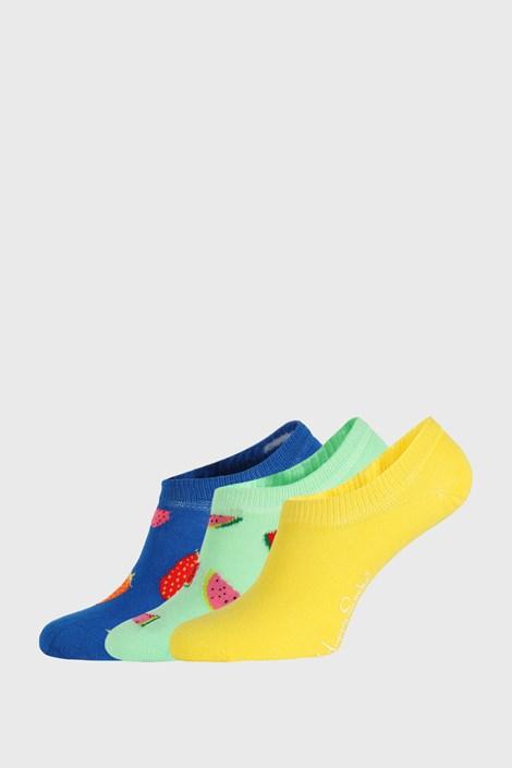 3 PACK nogavic Happy Socks Fruits No Show