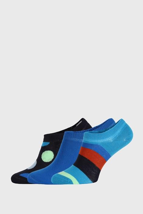 3 PACK nogavic Happy Socks Stripes No Show