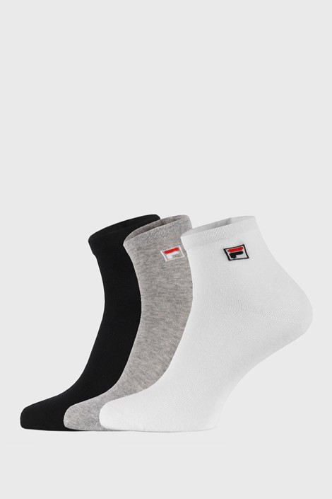 Trojno pakiranje treh barv nogavic do gležnjev FILA
