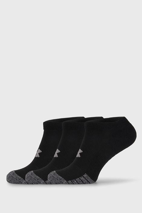 3 PACK črne nogavice Under Armour