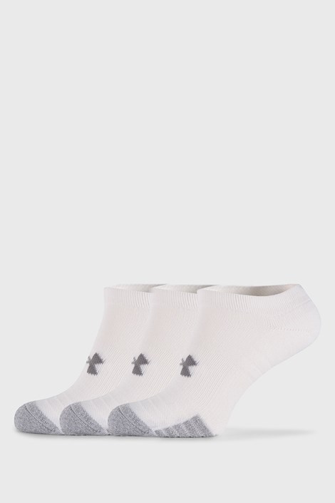 3 PACK bele nogavice Under Armour