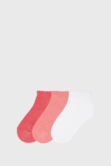 3 PACK nizke dekliške nogavice Mayoral Coral