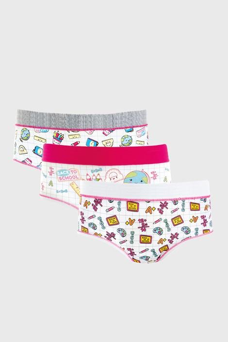 3 PACK dekliških hlačk School