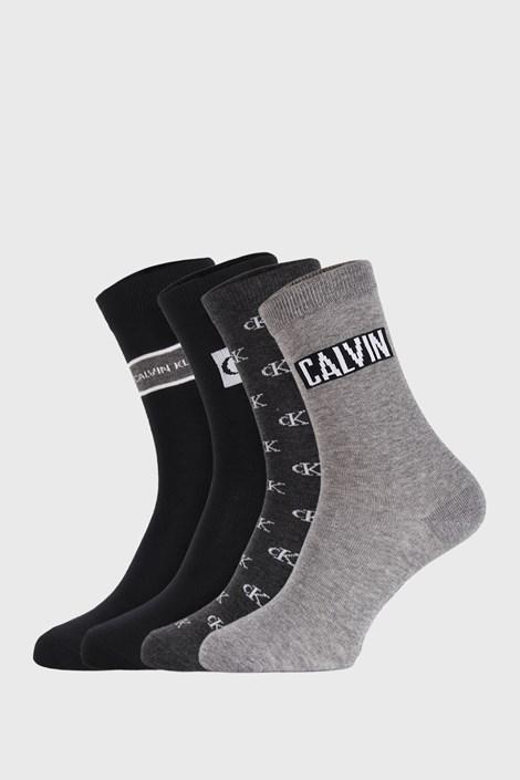 4 PACK ženske nogavice Calvin Klein Bronx I