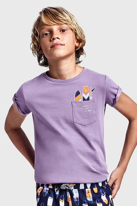 Fantovska vijolična majica Mayoral Grape