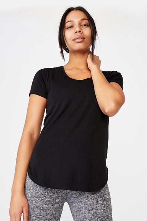 Črna športna majica Gym