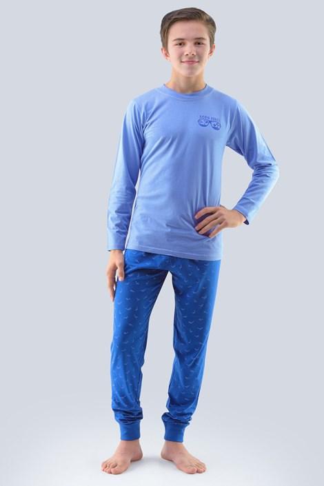 Deška pižama Atlantic, svetlo modra