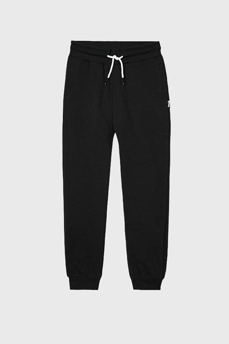 Črne deške hlače za telovadbo Vinyl