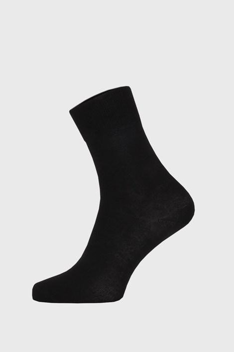 Črne nogavice iz bambusa visoke