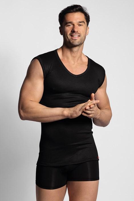 Črna termo spodnja majica
