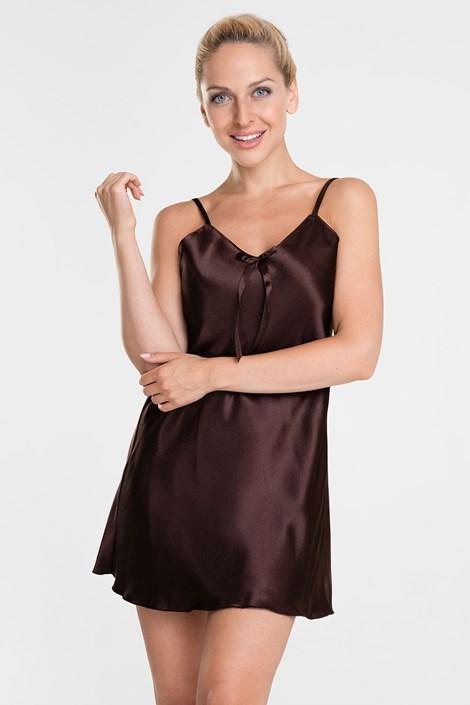 Elegantna spalna srajčka Aria Choco