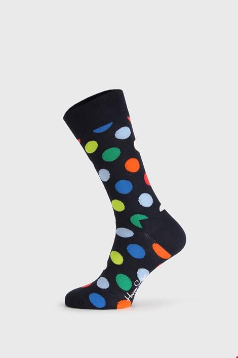Črne nogavice Happy Socks Big Dot