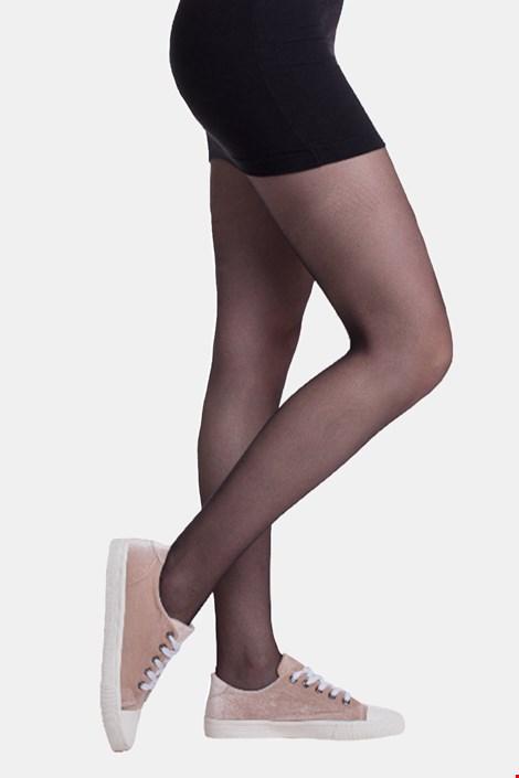 Črne ženske hlačne nogavice Bellinda Sneakerstyle 20 DEN