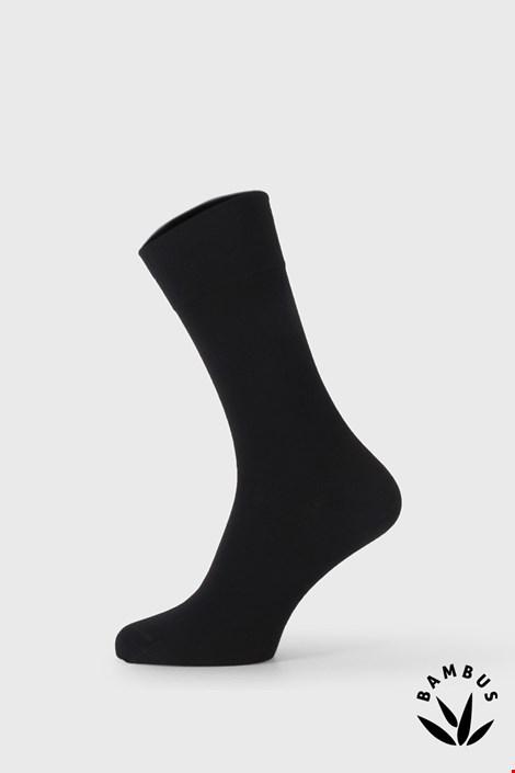 Črne elegantne nogavice iz bambusa Bellinda