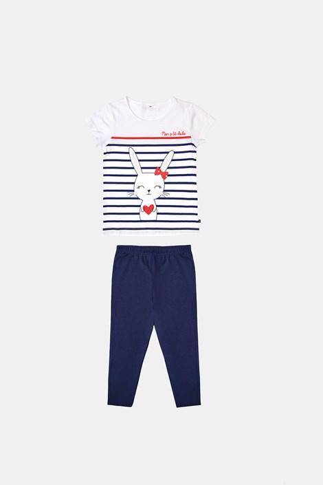Dekliška modra pižama Buny