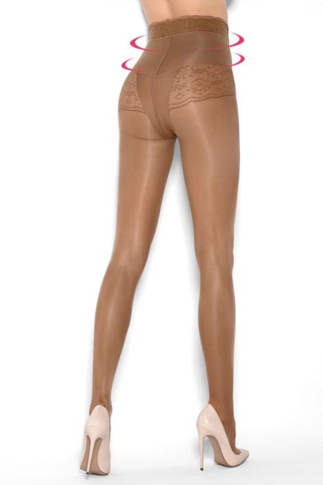 Hlačne nogavice Bikini Support Riga 20 DEN za oblikovanje postave