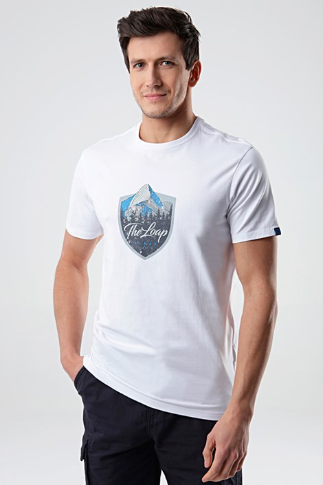 Bela majica LOAP Alesh
