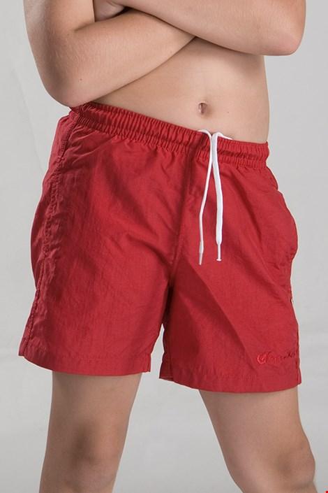 Fantovske kopalne kratke hlače, rdeče