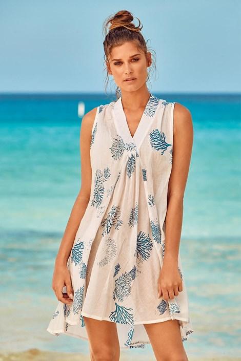 Obleka za na plažo Itaca White
