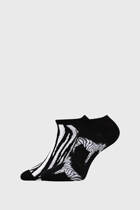 2 PACK ženske nogavice Zebra