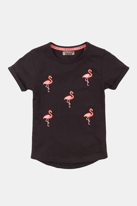 Dekliška majica Flamingo