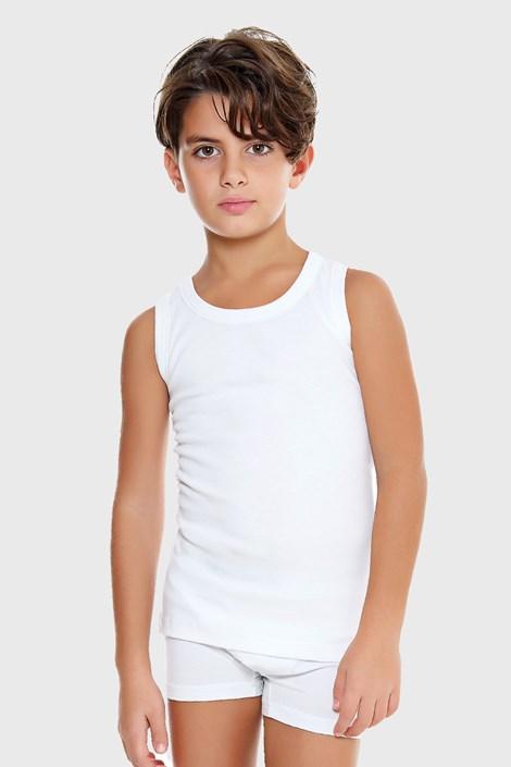 Bela deška spodnja majica E. Coveri basic