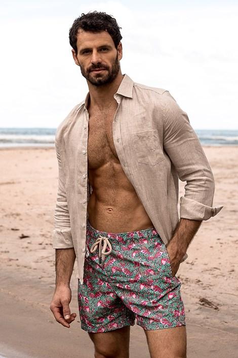 Moške kopalne kratke hlače SHORTS Co. Flamingo REG