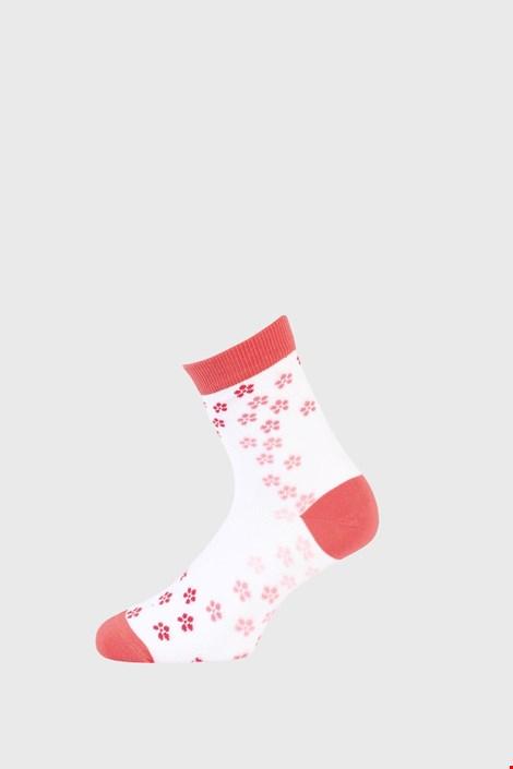 Dekliške nogavice z rožicami