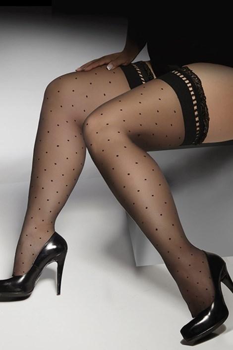 Samostoječe nogavice Gwenn plus size