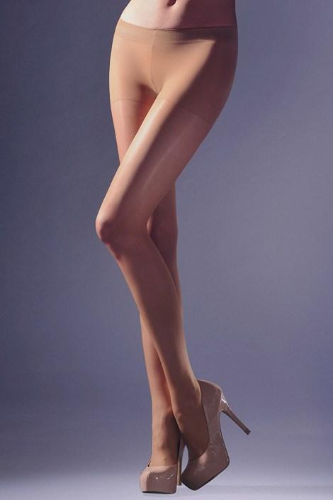 Hlačne nogavice z nizkim pasom 20 DEN