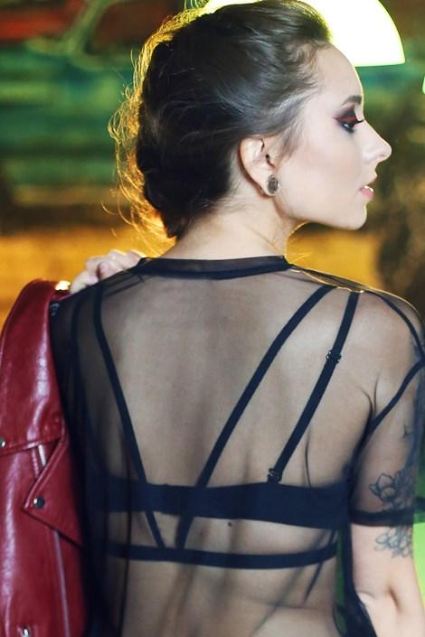 Dekorativne naramnice za hrbet Katie