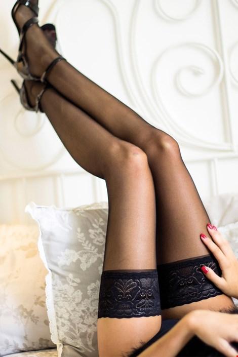 Samostoječe nogavice Lady Hold Ups