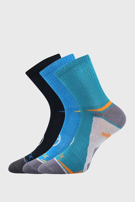 3 PACK deških nogavic VOXX Opti