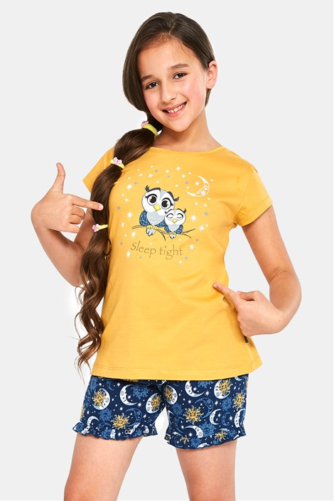 Dekliška pižama Owls