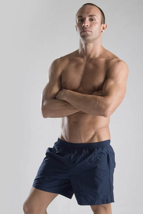 Moške kopalne kratke hlače GERONIMO, temno modre