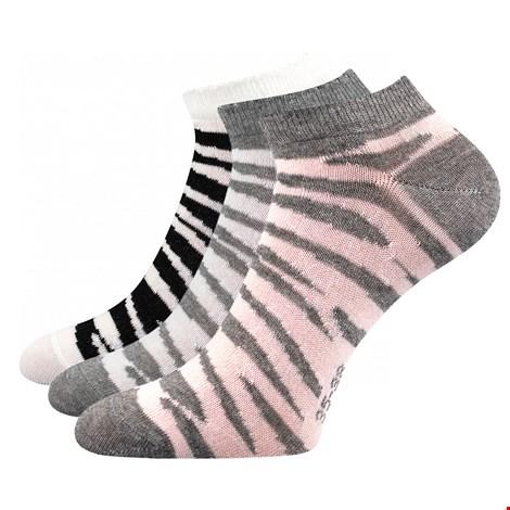 3 PACK ženske nogavice Piki 57