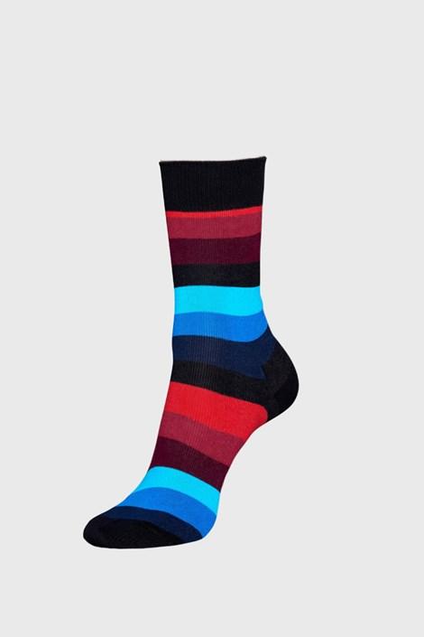 Črne nogavice Happy Socks Stripe