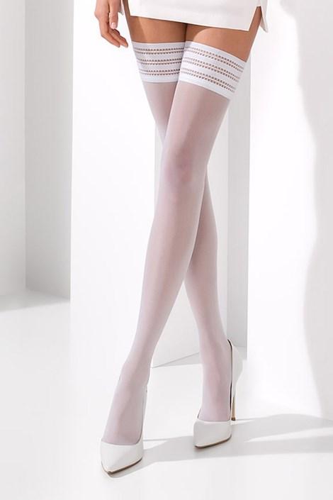 Samostoječe nogavice Claine White