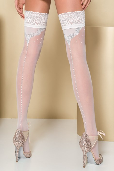 Samostoječe nogavice Ercilia 20 DEN